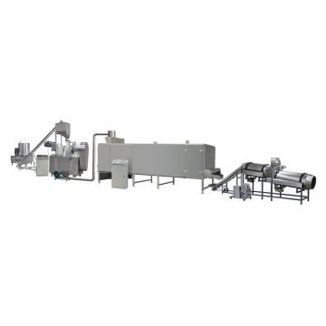 Automatic Textured Vegetarian Protein Tvp Soya Meat Soya Nuggets Process Line Soya Nuggets Food Making Machine